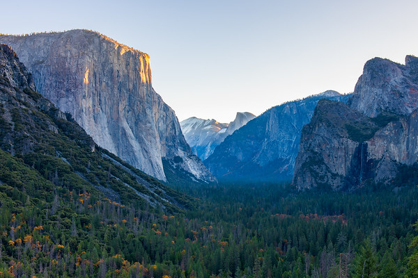 Tunnel View at Sunrise