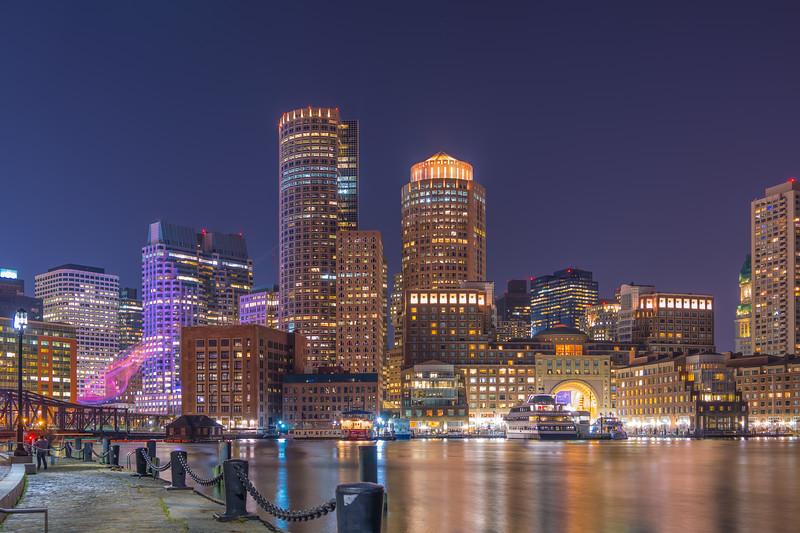 Boston Harbor from the Fan Pier
