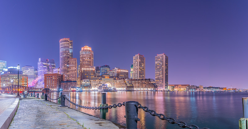 Boston Harbor from the Fan Pier #2