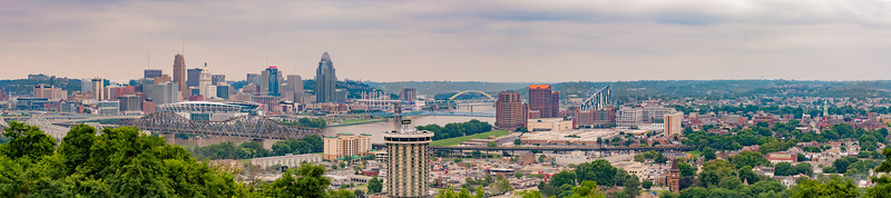 Cincinnati OH/ Covington KY Daytime Skyline
