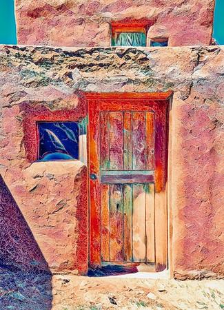 Pueblo Door 2