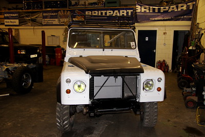 1990 Land Rover Defender that will be refurbished for overlanding