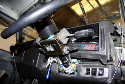 Work required on steering column and dash.