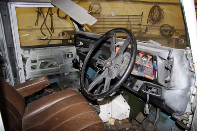 A smaller steering wheel will be fitted and possibly a more modern dashboard.