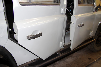 Rock sliders fitted below doors for added protection.