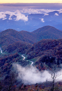 Cherohala Skyway-Nantahala National Forest-Snowbird Mountains