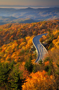 Linn Cove Viaduct-Blue Ridge Parkway-Grandfather Mountain
