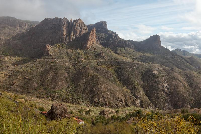 Moya to Maspalomas over the Mountain
