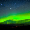 Big Dipper and Northern Lights