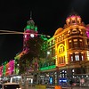 """There's a look at """"Flinders Street Railway Station"""" at night... Beautiful!<br /> <br /> Overall, our stay in Melbourne didn't have any major highlights that you think of when going to Australia but is was the PERFECT City to start our tour in to get over the jet-lag a little, to walk around & see how the locals live, to take in the relaxed Culture, to try the YUMMY food (it's for sure a """"Foodie's"""" city!!), to meet some NICE people, etc.<br /> <br /> Definitely a great time was had by all in our group in Melbourne! :-)"""