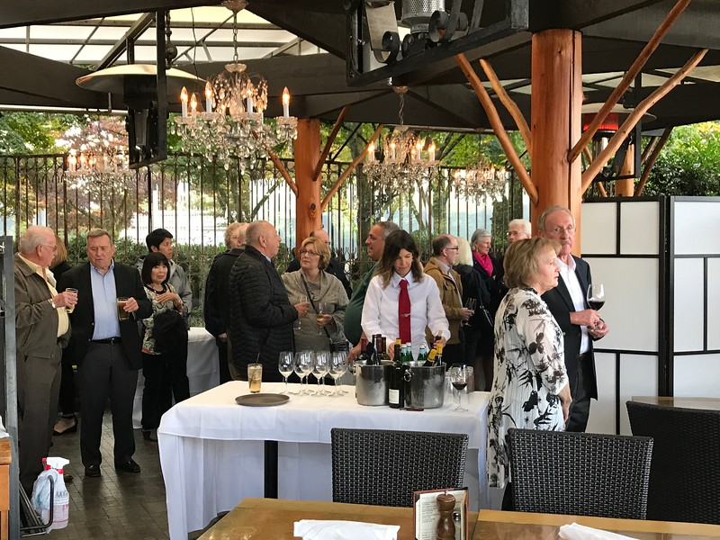 """After a great week exploring Portland, Seattle, Victoria & Vancouver we ended off our week together with a farewell reception & dinner  at """"Seasons in the Park"""", an iconic Vancouver restaurant..."""