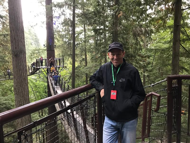 """The """"Capilono Suspension Bridge"""" area also features a """"Treetop"""" area..."""