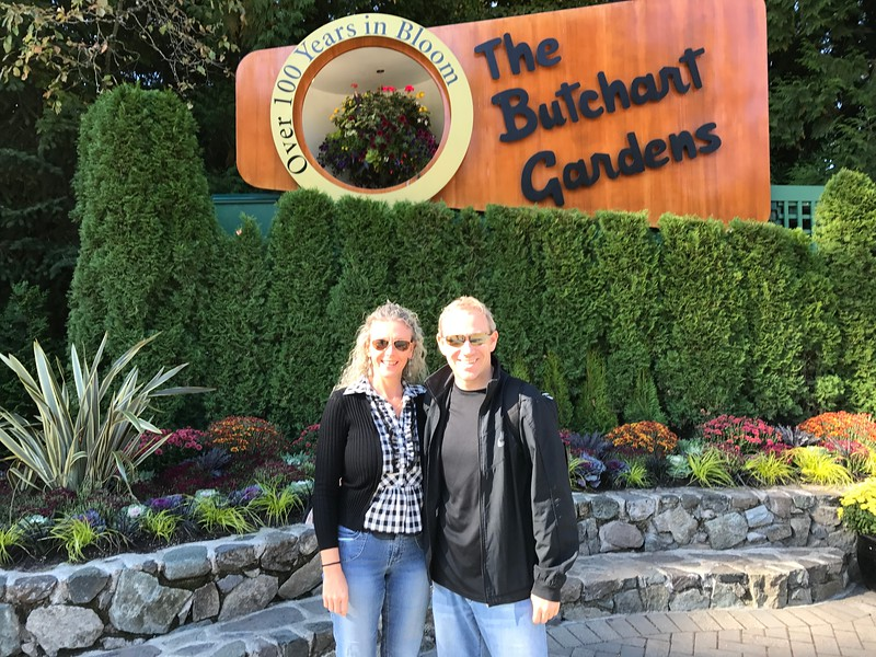 "No doubt that a visit to Victoria wouldn't be complete without checking out it's World Famous ""Butchart Gardens""... if you scroll through the next dozen pictures you'll easily see why!"