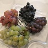 We even got to try some grapes fresh off the trees... yum!! :-)