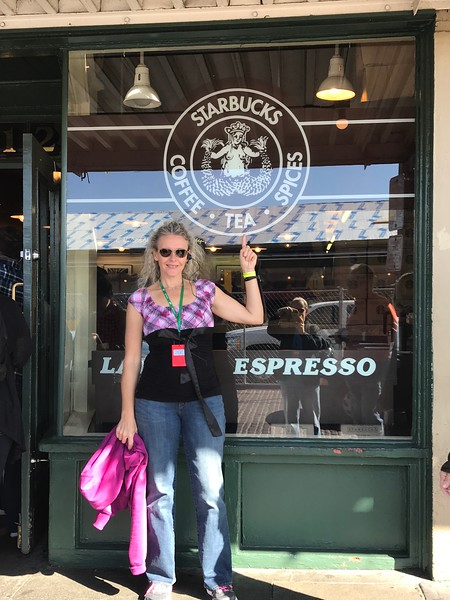 """Even the original """"Starbucks"""" is at the Market... for sure Seattle's """"Pike Place Market"""" is a place to definitely not miss when in town!"""