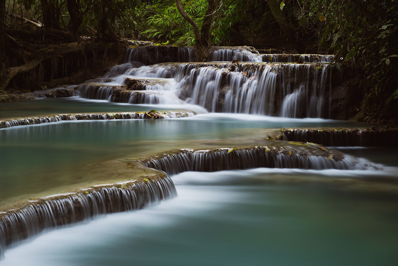 Kuang Si Waterfalls I