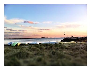 Sunrise on Seabright Beach