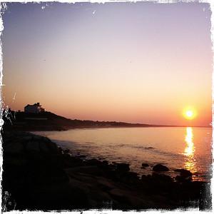 Sunrise over East Beach