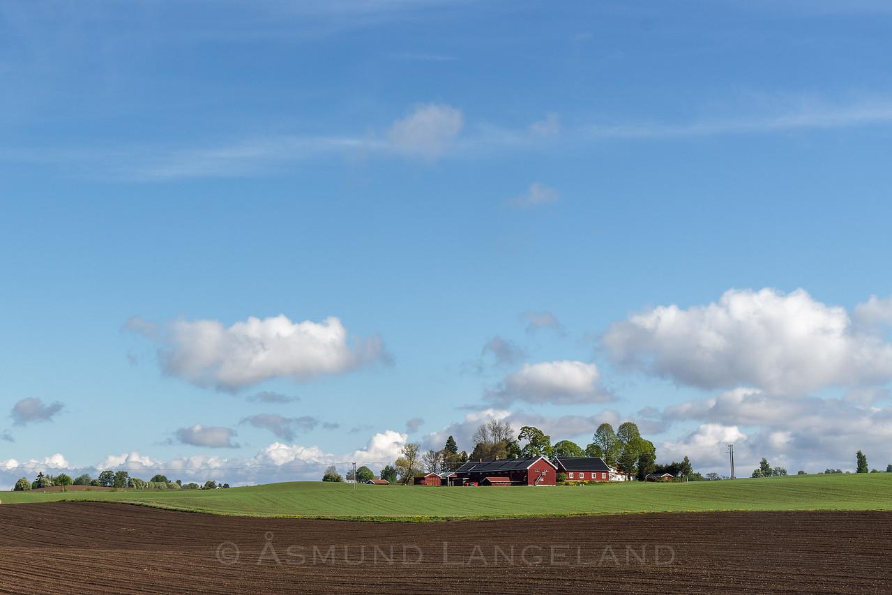 Hammerstad gård, Stange