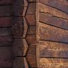 Laftet vegg