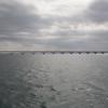 10.03.2013, Dominikanische Republik, Halbinsel Samana, Ort: Samana. -El Puente de los Cayos- ist eine Fussgaengerbruecke in der Naehe des Hafens, die mehrere Inseln  mit dem Festland verbindet.
