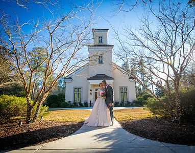 Wedding Celebration at Kenan Wedding Chapel | Wilmington NC