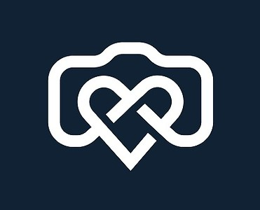 Simple creative photographer symbol, icon, logo