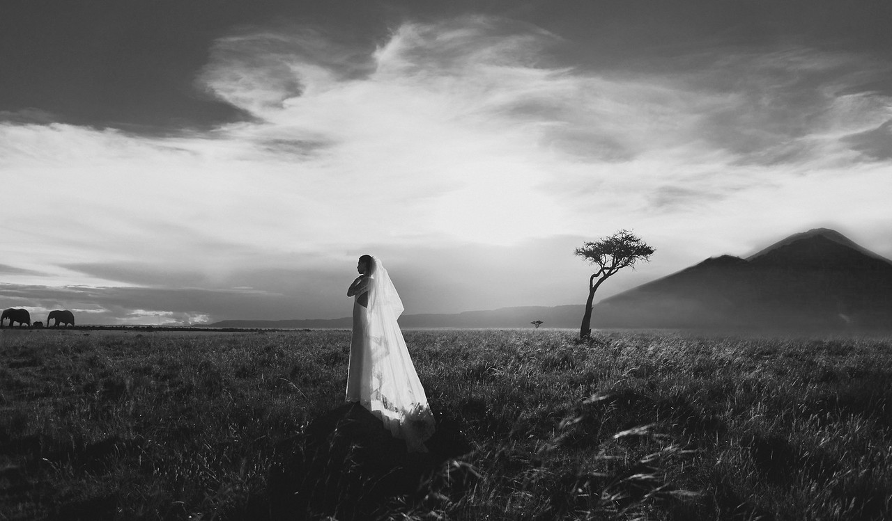 Elopement Wedding in Masai Mara, Kenya
