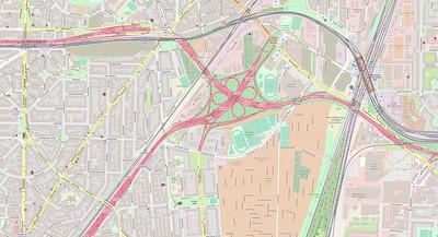 Berlin Stadtplan Map No. 8