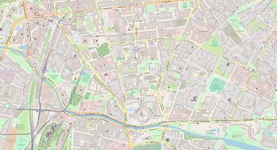 Berlin Stadtplan Map No. 13b