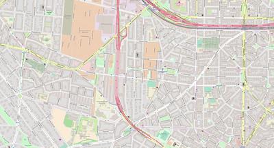 Berlin Stadtplan Map No. 7