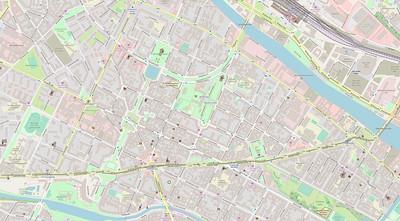 Berlin Stadtplan Map No. 34
