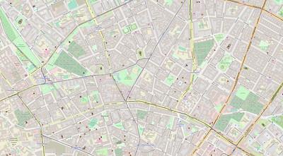 Berlin Stadtplan Map No. 21