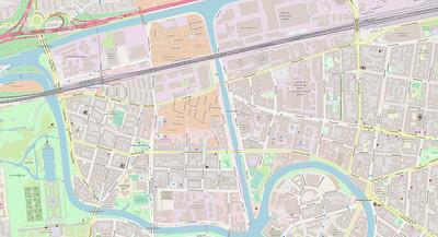 Berlin Stadtplan Map No. 3
