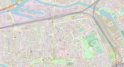 Berlin Stadtplan Map No. 12