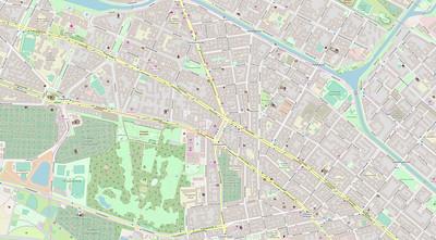 Berlin Stadtplan Map No. 33