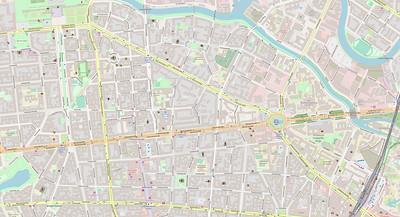 Berlin Stadtplan Map No. 4