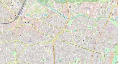 Berlin Stadtplan Map No. 10