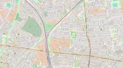 Berlin Stadtplan Map No. 19