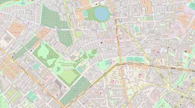 Berlin Stadtplan Map No. 16