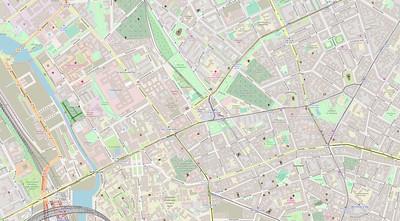 Berlin Stadtplan Map No. 22