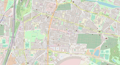 Berlin Stadtplan Map No. 14