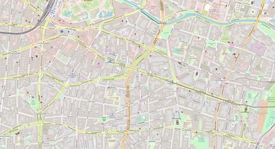 Berlin Stadtplan Map No. 10b