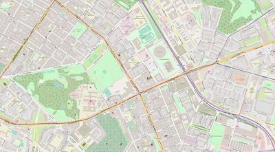 Berlin Stadtplan Map No. 26