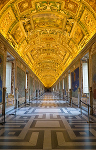 The Hallway to the Sistine Chapel