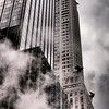 Chrysler Building with Gargoyles and Steam