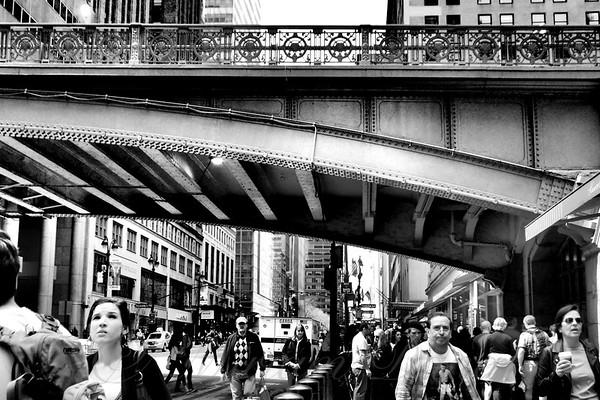 Rush Hour - New York City Street Scene