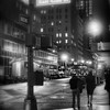 9 PM on the Street - New York City at Night