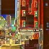 East Side Story - New York City Street Scene - Noir, in Color
