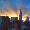 Incredible Sunset No. 4 -  New York City Skyline